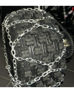 Snow chains for tires size 25x10-12