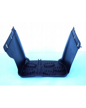 The driver left footrest for ATV 110, 125 in the style of BMW