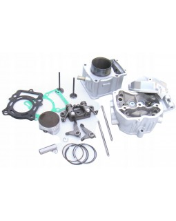 The original set of cylinder-piston group, cylinder head overhaul for ATV BASHAN 250 with water cooling