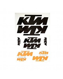 Original set of stickers for KTM motorcycles