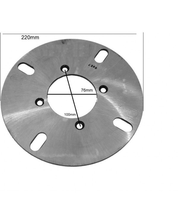 Rear brake disc for ATV Bashan 200 original