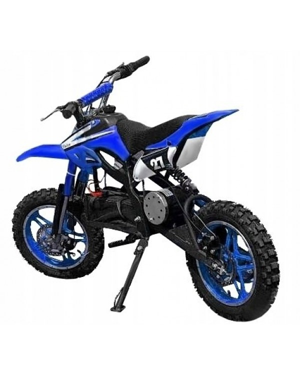 Electric motorcycle Enduro 800W 36V on wheels 10 inch