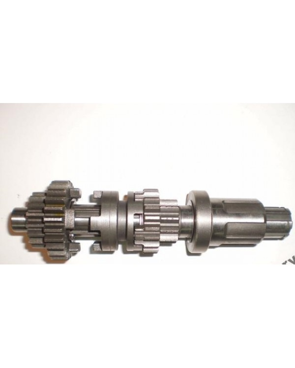 Scalene shaft and gear box for ATV Bashan 200, 250