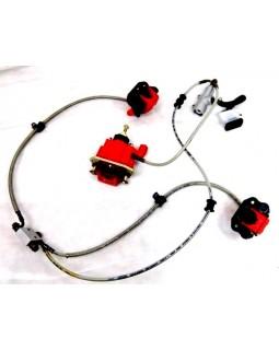 Full set of brake system for ATV 250ST-9E