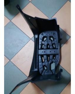 Original left driver footrest for ATV SYM QUADRAIDER 600