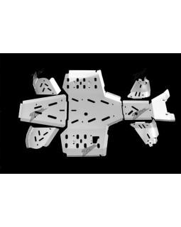 Skid plate aluminum for YAMAHA YFM 700 GRIZZLY 2014-2015
