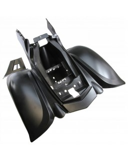 Rear plastic (wings) for ATV BASHAN BS150S-2 long wing