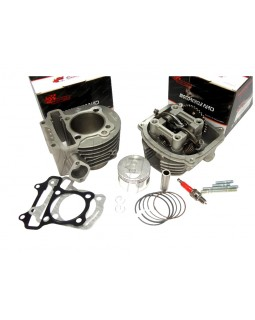 Kit cylinder and head assy for GY6 150 ATV 4T