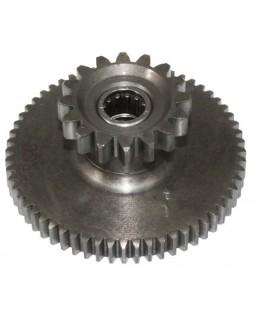 Original intermediate gear starter for ATV Bashan 200, 250