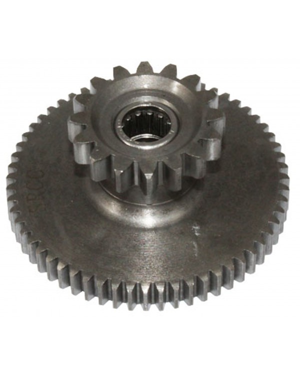 Original intermediate gear starter for ATV Bashan 200, 250