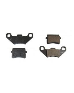 Brake pads, front, for ATV Bashan 150, 200, 250 set