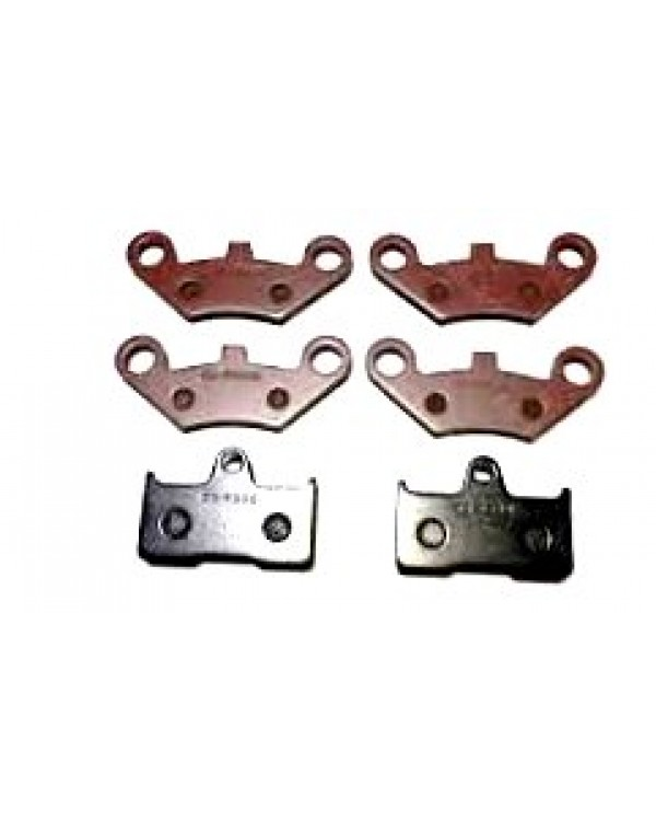 Set of brake pads (front and rear) for ATV CFMOTOR 500