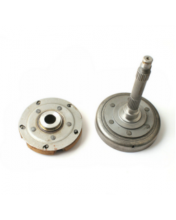 Original clutch kit and clutch bell for ATV LINHAI 600