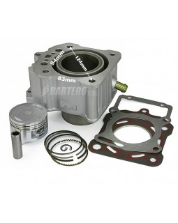 Cylinder with piston for ATV Bashan 250 watercooled
