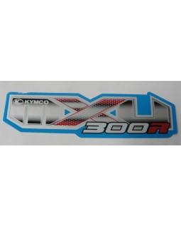 Original sticker on the fuel tank for ATV KYMCO MXU 300 R
