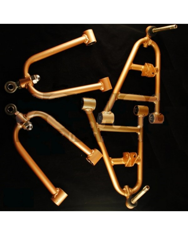 Set of front suspension arms top and bottom for ATV 125, 150 LEOPARD