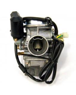 The original carburetor with solenoid for ATV JONWAY 125