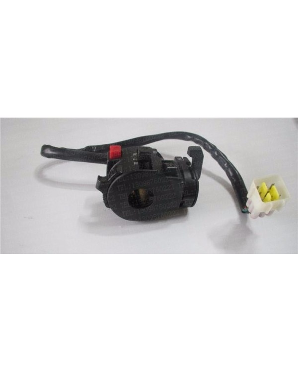 Original light control unit (left) for ATV Bashan BS250S-5 with gearbox version from 2013 to 2017