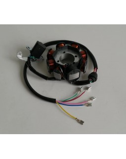 Generator stator winding for ATV 150 for 162fmj engine