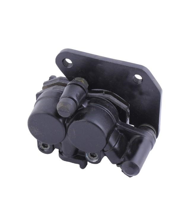 Original left front brake caliper for ATV BASHAN BS250S-5 with reducer