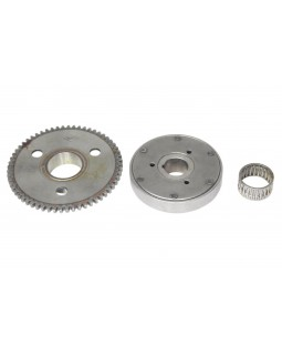 Original starter clutch (bendix) and pinion gear for DIABLO 150 ATV FUXIN