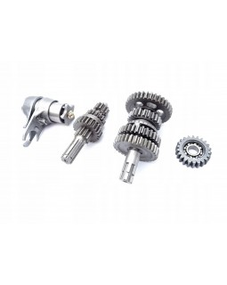 The shafts of the gearbox 3+1 reverse gear for ATV 110, 125