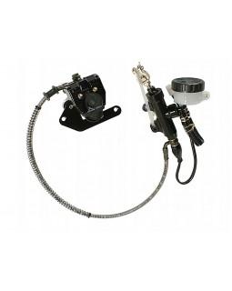 Original rear foot brake kit for ATV DIABLO 150