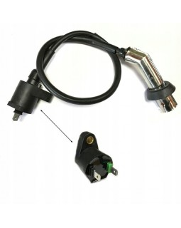 Original ignition coil and candle cap with wire for ATV FUXIN 200 CVT