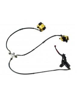 Front brake system for ATV 110, 125, 150