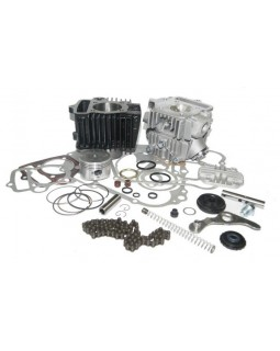 Gasket set, cylinder, timing chain, block heads for ATV KINGWAY 110