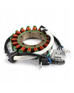 The winding of the generator stator for ATV SUZUKI KINGQUAD LT-A 400