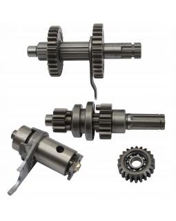 Original transmission shaft and gear set for ATV 110, 125 forward and reverse gear
