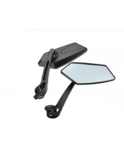 Original set of rearview mirrors for LINHAI LH150 scooter