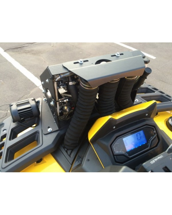 Removal of the radiator and the ATOM snorkel for ATV STELS ATV 650, 800, 850 GUEPARD