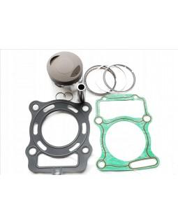 Original piston group kit (piston, rings, finger, stopper, gaskets) for ATV BASHAN 250