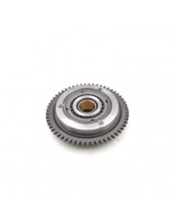 Original starter clutch (bendix) and pinion gear for ATV IRBIS 200, 250