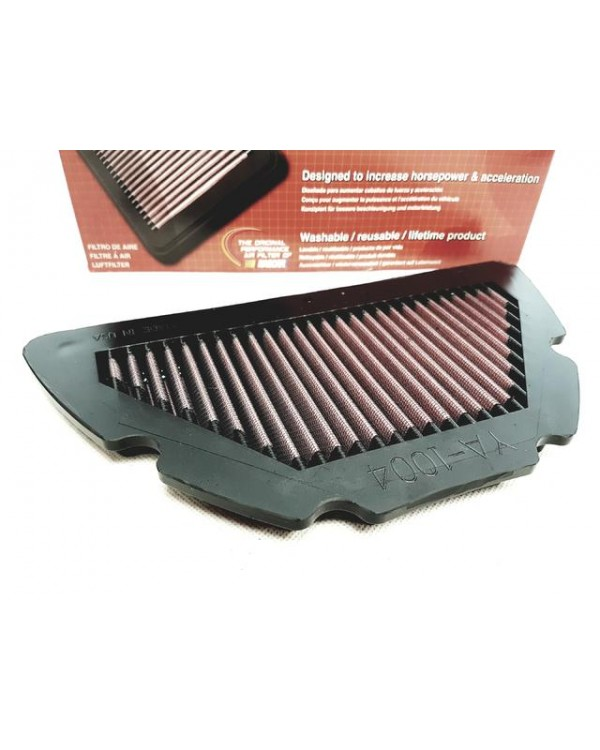 Motorcycle air filter for YAMAHA YZF R1 1000 04-08 zero resistance