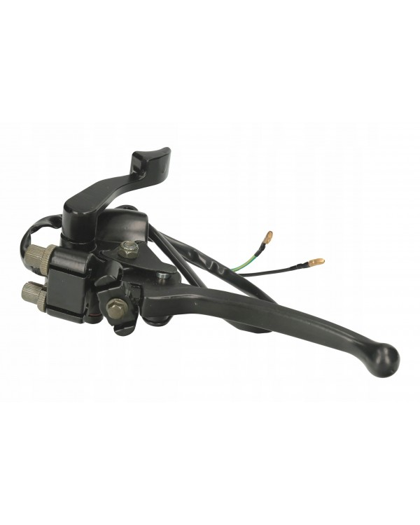 Front brake lever kit (cables) and gas trigger with electrics for ATV 110, 125, 150