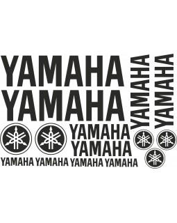 Original set of stickers for ATV YAMAHA