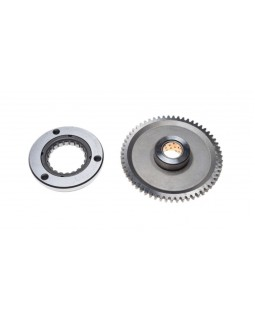 Original clutch and starter gear for ATV Shineray XY250ST-9C