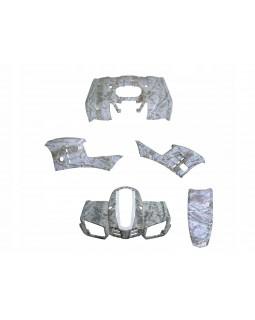 Original plastic kit (body) for ATV BUYANG, ALLROAD 300