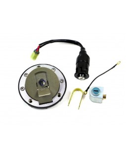 Original set of tank cover and ignition lock for ATV LUCKY STAR ACCESS SP 250, 300, 400, 450