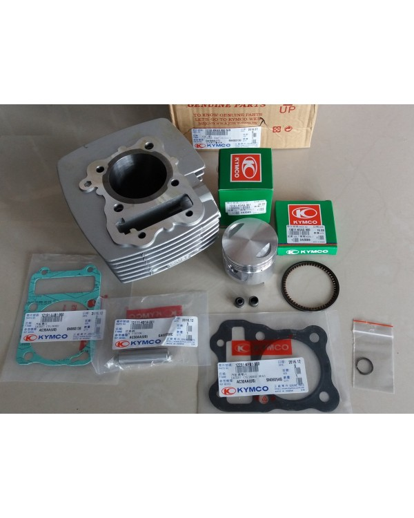 Original kit: cylinder, piston, gaskets, seals, rings, caps for ATV KYMCO MXU, MXER 150