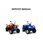 Service Manuals for ATVs