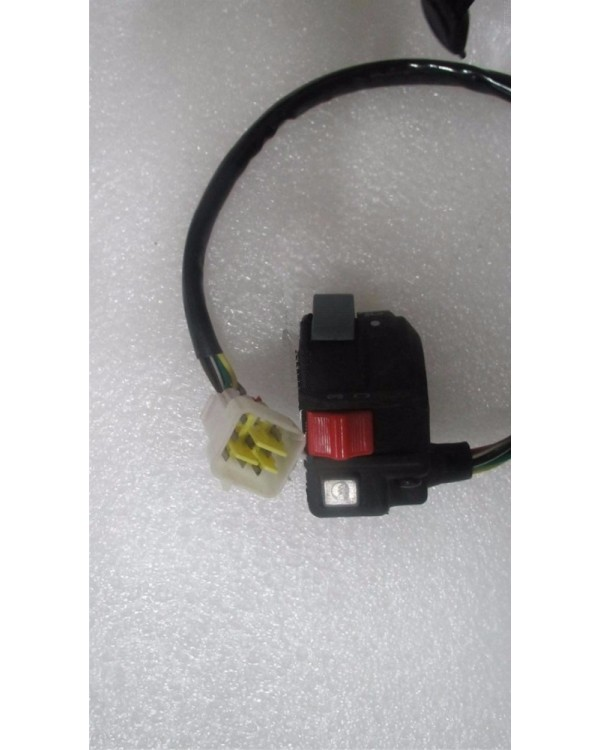 Original light control unit (left) for ATV Bashan BS250S-5 with gearbox version from 2009 to 2013