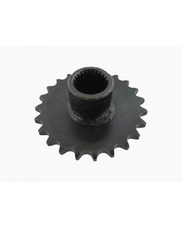 Driving star with bushing (front) 23 teeth, 428 chains for ATV BASHAN, SHINERAY 150