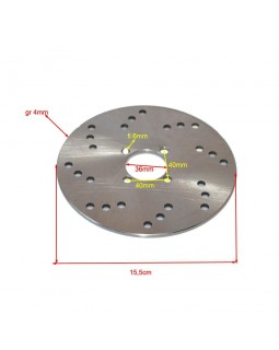 Original rear brake disc buggy FUXIN 125
