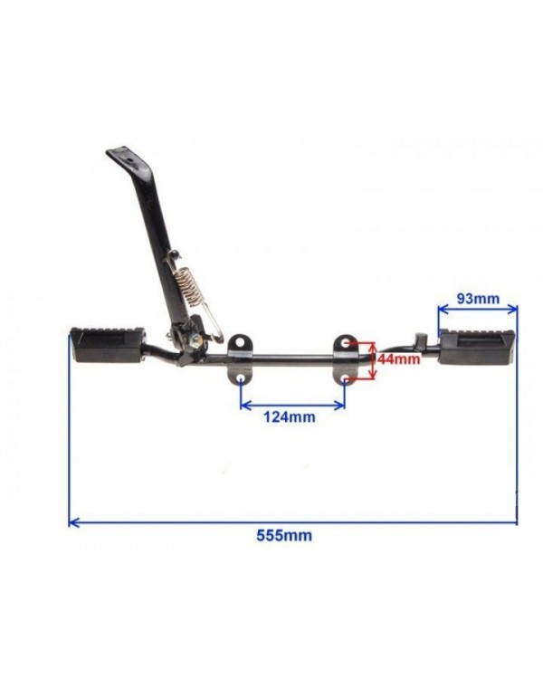 Footrest driver for mopeds SHINERAY XY125-10D