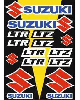 Original set of stickers for ATV SUZUKI