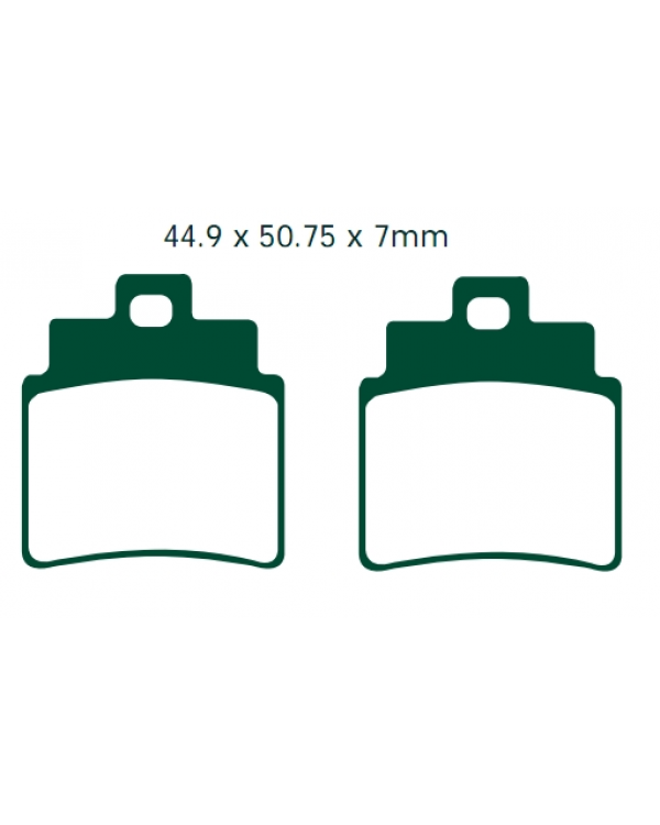 Original brake pads for ATV Kymco MAXXER, KXR, MXU 250, 300